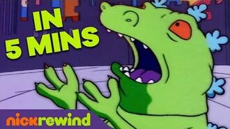 Reptar on Ice in 5 Minutes! 🦖 Rugrats NickRewind