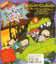 The Rugrats Movie Activity Challenge CD