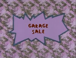 Garage Sale Title Card