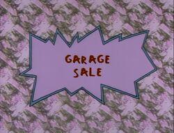 Garage Sale Title Card