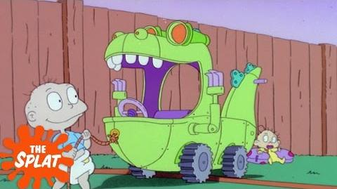 Busta Rhymes Is Reptar The Splat Celebrity Nominations Rugrats