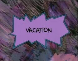 Rugrats - Vacation