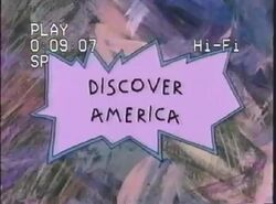Discover America Title Card