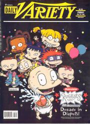 Daily Variety Rugrats Magazine Book