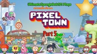 Let's Play Nickelodeon Pixel Town Part 5 FREE GEMS + Rugrats Characters