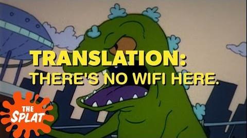 Reptar's Roaring Translations Rugrats The Splat