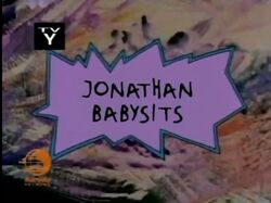 Johnathan Babysits