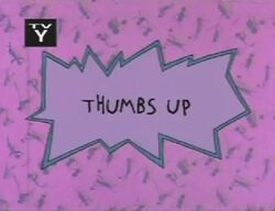 Thumbs Up Title Card