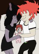 Shenzi, Chuckie, and Maya