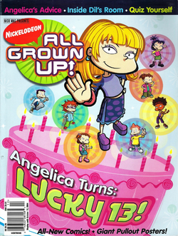 All Grown Up Angelica Turns 13 Comic Magazine Book