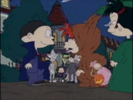 Curse of the Werewuff - Rugrats 738