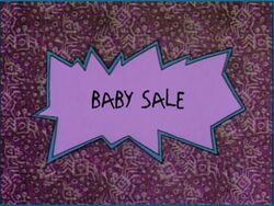 Rugrats Baby Sale
