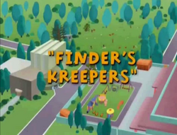 Finder's Kreepers Title Caed