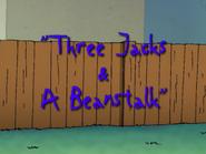 Three Jacks and a Beanstalk