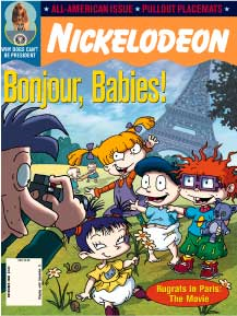 Bonjour, Babies Rugrats Book