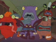 Ickis, Krumm, Oblina, and the Monsters