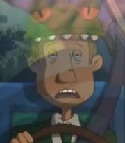 Animatronic Bus Driver