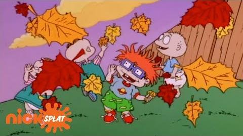 The Babies Release the Leaves Rugrats NickSplat