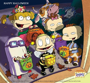 Happy Halloween from Rugrats 2018