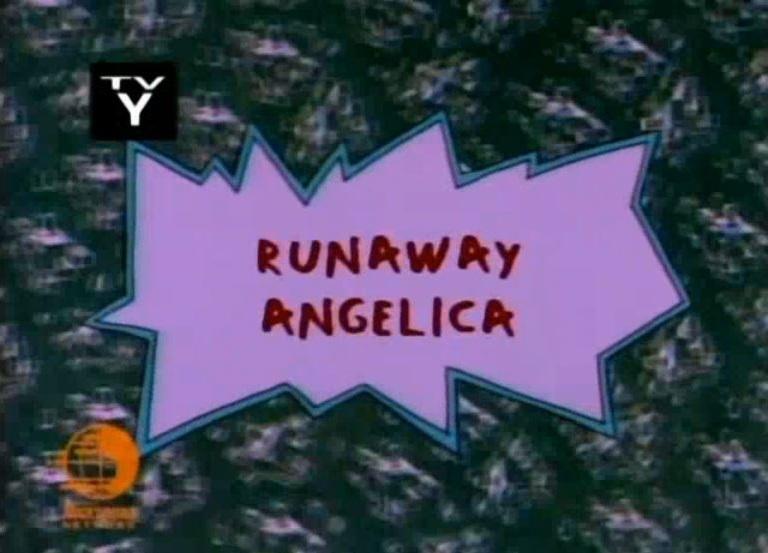 Runaway Angelica Rugrats Wiki Fandom Powered By Wikia