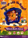 Nickelodeon Magazine November 1998 Rugrats Talking Alarm Clock Advertisement