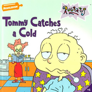 Tommy Catches A Cold Book