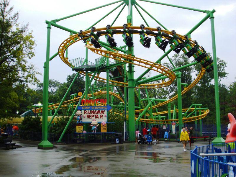Runaway Reptar Roller Coaster Rugrats Wiki Fandom Powered By Wikia