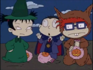 Curse of the Werewuff - Rugrats 684