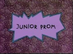 Junior Prom Title Card