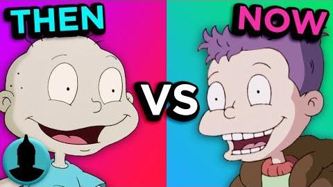 Rugrats - Then Vs Now - Evolution of Rugrats (Tooned Up S5 E41)