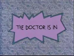 The Doctor Is In Title Card