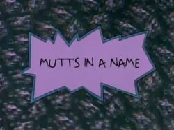 Rugrats - Mutt´s In A Name