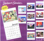 Rugrats Wall Calendar Back