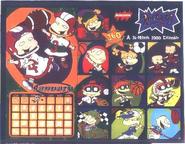 Back Rugrats 2000 Calendar