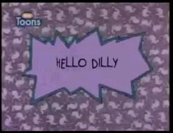 Hello Ditty Title Card