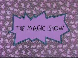 The Magic Show Title Card