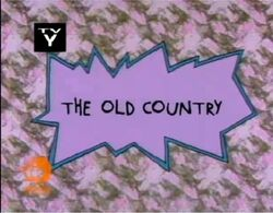 Rugrats - The Old Country