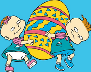 Phil and Lil Easter 2018 Rugrats