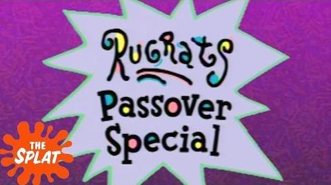 """A Rugrats Passover"" Vintage Promo Rugrats The Splat"