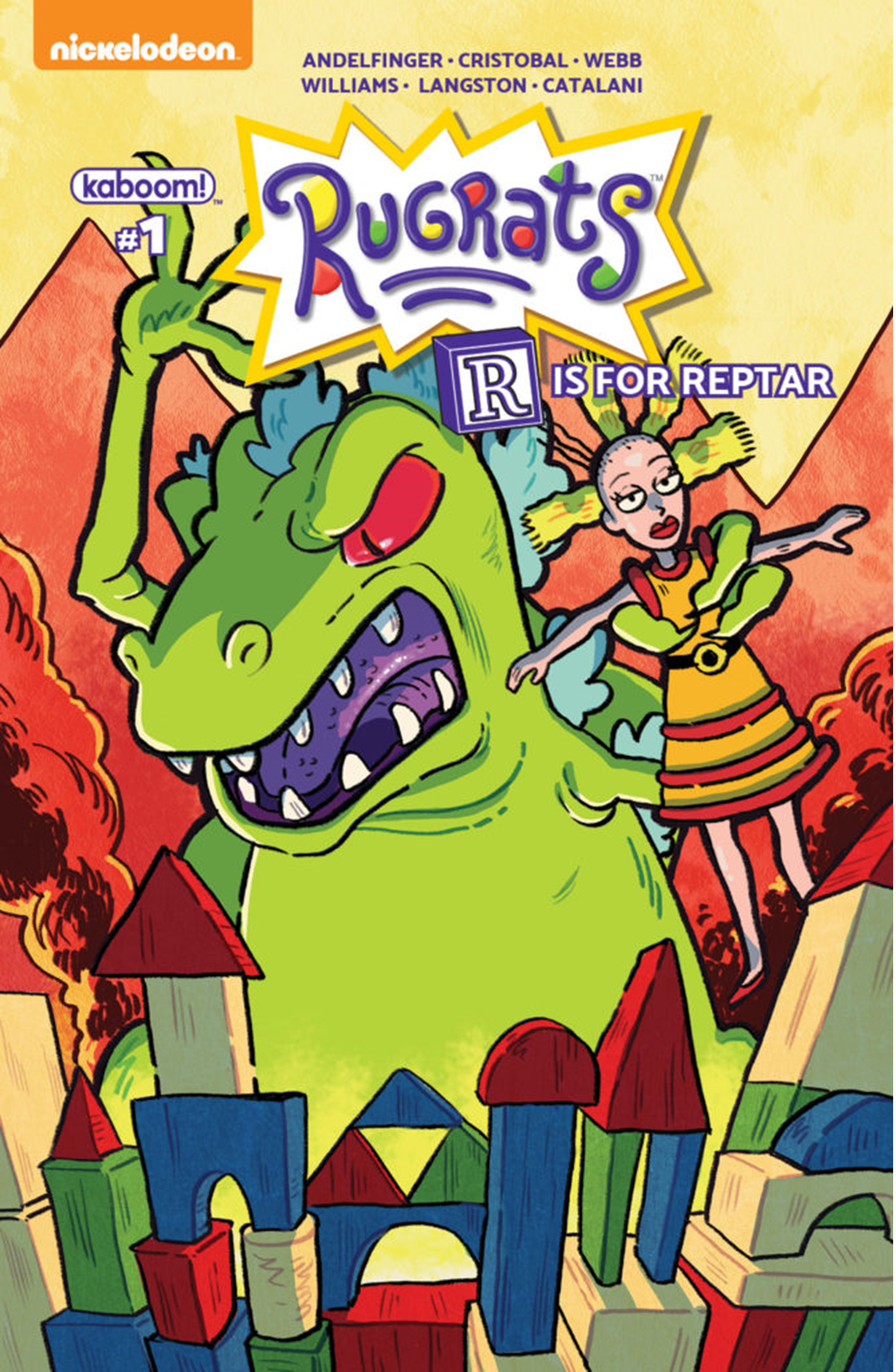 Rugrats: R Is For Reptar 2018 Special: Number 1 | Rugrats Wiki ...