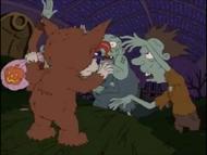 Curse of the Werewuff - Rugrats 647