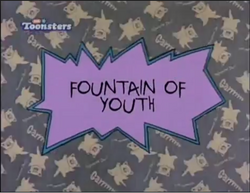 Rugrats Fountain Of Youth