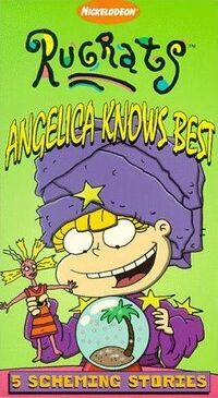 Angelica Knows Best VHS