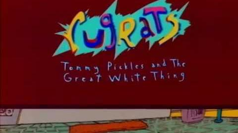 Rugrats Tommy Pickles and the Great White Thing (Original Unaired Pilot)