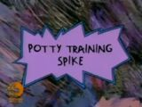 Potty Training Spike