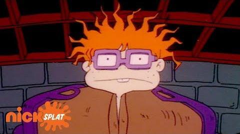 Chuckie Gets Stuck in a Mattress Rugrats NickSplat