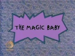 The Magic Baby Title Card