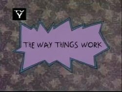 The Way Things Work Title Card