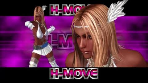 Rumble Roses XX - Aisha H-Move (Hell Rush)