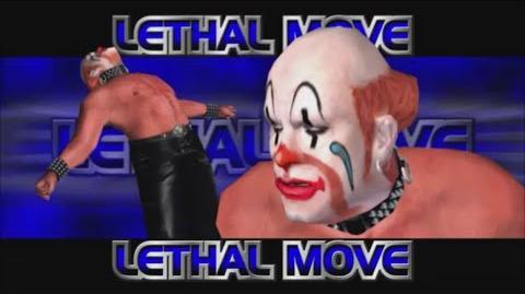 Rumble Roses XX - Sebastian Lethal Move (Clown Driver)